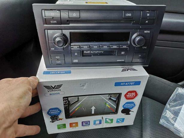 Stacja 2din Vordon uniwersalna symphony concert bose Audi vag kamera