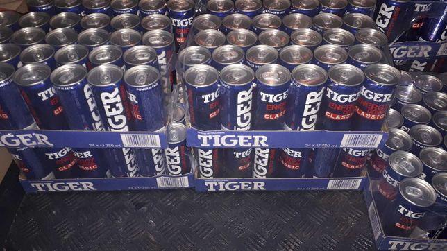 TIGER energy drink. 24 szt po 250 ml.