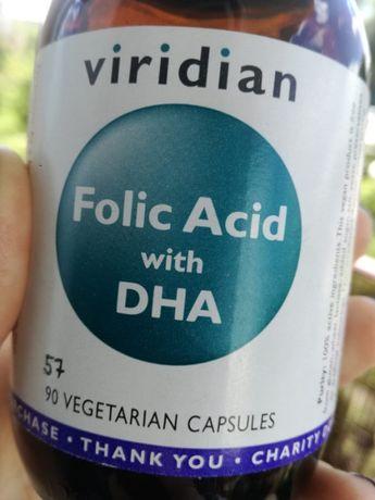 Viridian wegański kwas foliowy z DHA