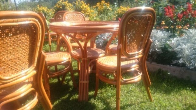 Меблі ротанг стіл крісла стільці Індонезія комплект