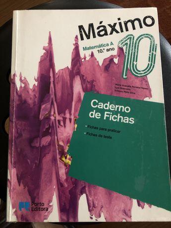 Caderno de atividades Máximo 10 ano