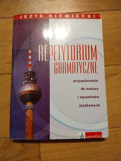 Repetytorium gramatyczne matura egzaminy niemiecki rewelacyjne