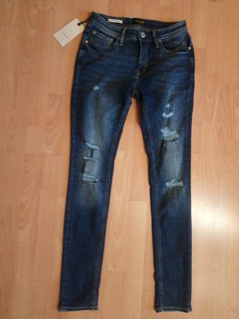 Jeansy, Spodnie jeansowe, Jack&Jones Skinny Fit Liam