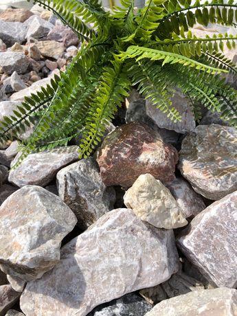 Gabion kolorowy, gabionówka, kamień ogrodowy, kora, Bierutów