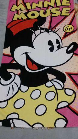 Яркое Disney store exclusive Minnie Mouse махровое большое полотенце