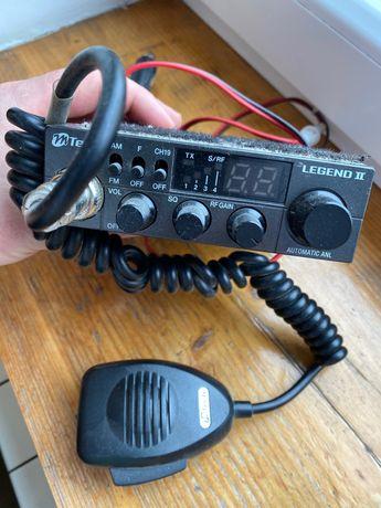 Cb radio Mtech legend II plus dwie anteny