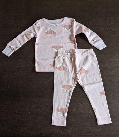 Піжама Розовая 9 мес Carters Carter's пижама carters carter's 68