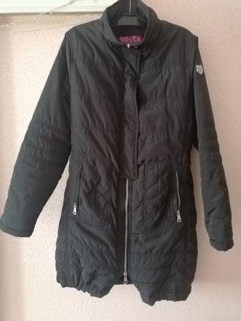 Куртка пальто Eskey черная