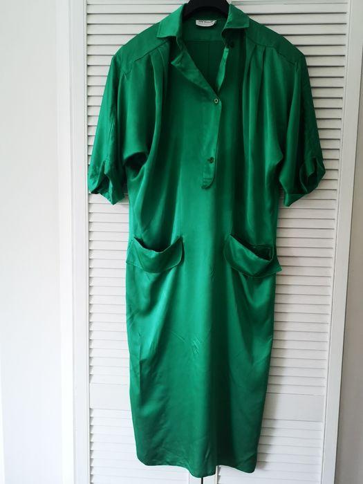 Damska sukienka tunika Vintage Warszawa - image 1