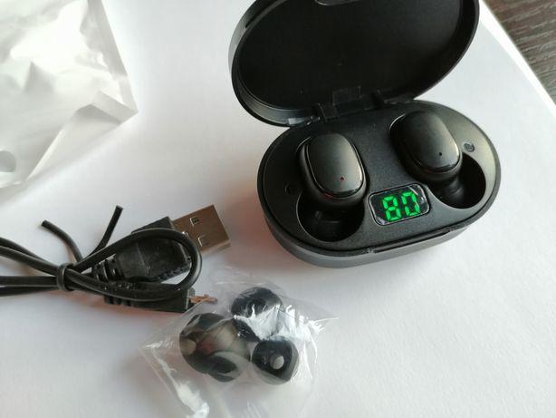 Słuchawki bezprzewodowe z powerbankiem E6S TWS
