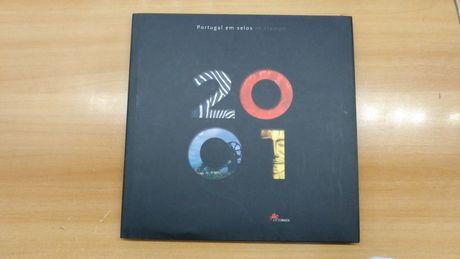 Portugal em Selos 2001 - Livro CTT com Selos