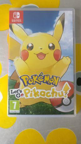 Jogo Nintendo Switch - Pokémon Let's Go Pikachu