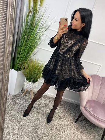 Sukienka a la Lou czarna