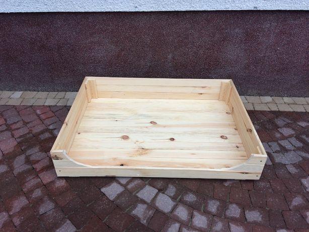 legowisko dla psa, łóżko dla psa, drewniane