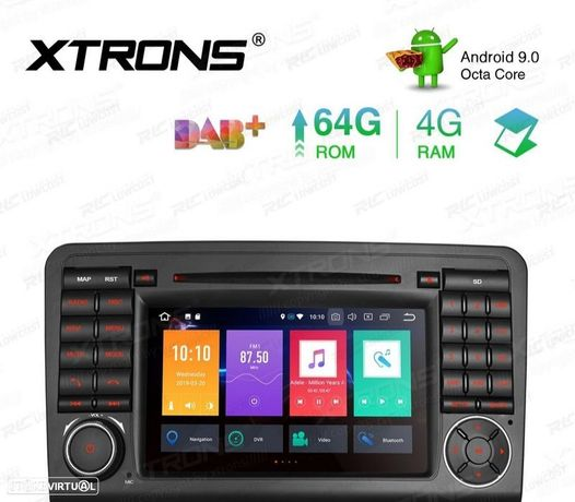 """AUTO RADIO GPS ECRA TACTIL 7"""" MERCEDES-BENZ"""