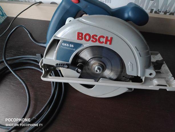 Pilarka GKS 55 +zb Bosch