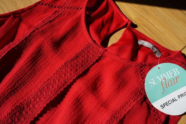 Czerwona sukienka ORSAY rozm.34