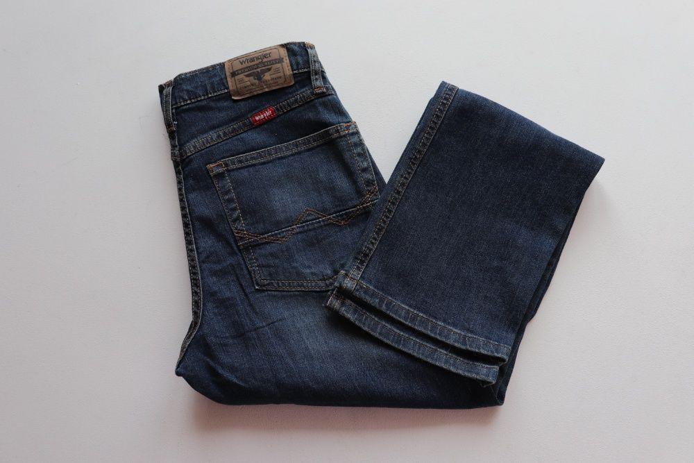 Męskie spodnie jeansy Wrangler Five Star 28 L30. Nowe z metkami Węgierska Górka - image 1