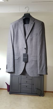Garnitur, marynarka+spodnie VISTULA nowy Super Slim
