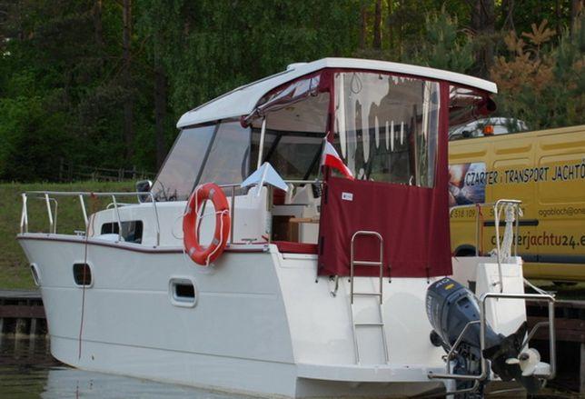 Czarter jachtu Nautika 830 - dostępny wrzesień Mazury Giżycko