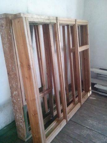 Двойные деревянные рамы,окна деревянные--- НОВЫЕ