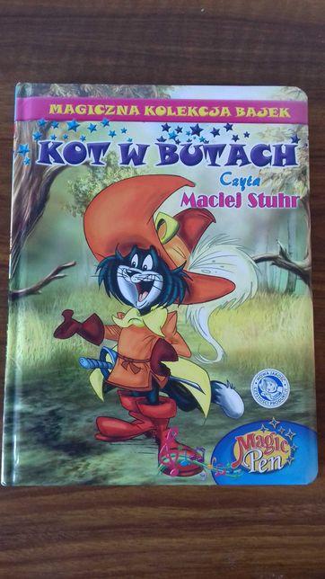 Książka dla dzieci Kot w butach Magiczna Kolekcja Bajek