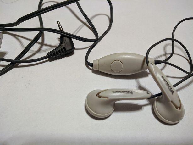 Zestaw słuchawkowy stereo  Nokia HS-7 Oryginał jack 2,5mm