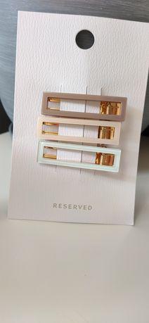 złote spinki Reserved