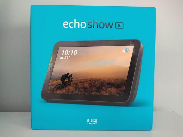 AMAZON ECHO SHOW 8 - Preto -  Alexa - Ecrã Inteligente