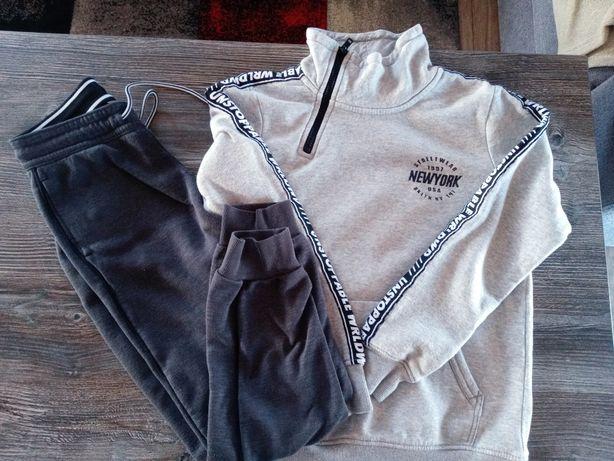 Bluza+spodnie dresowe h&m 146r.
