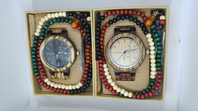 Zegarek Bobo Bird drewniany, bambusowy, drzewo egzotyczne PROMOCJA