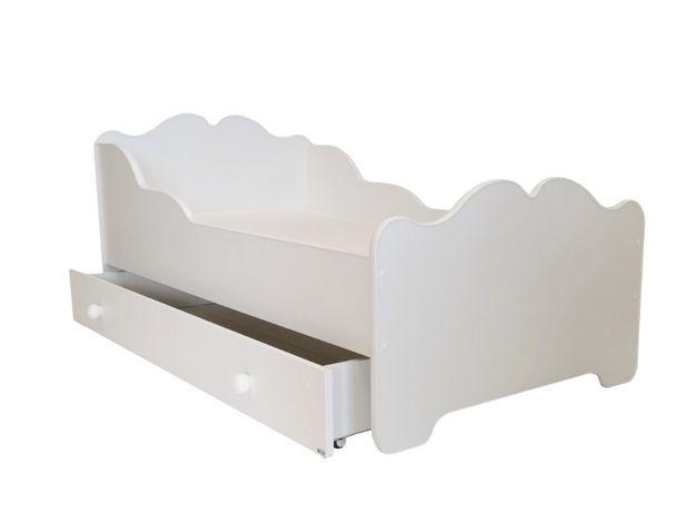 Łóżko dziecięce ANNA 160x80 z szufladą i materacem Dostawa Gratis!