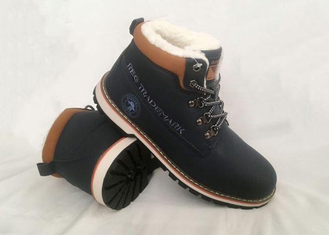 Зимние мужские ботинки Navigator прошитые. Размер 41, 42, 43, 46