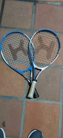 Conjunto 2 Raquetes Tenis tamanho 21 (as duas)