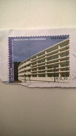 Selo Correio Portugal Arquitectura Contemporânia (portes incluídos)
