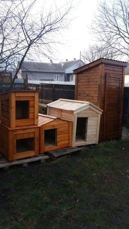 Будка для собак деревянная продам или обменяю на щенка