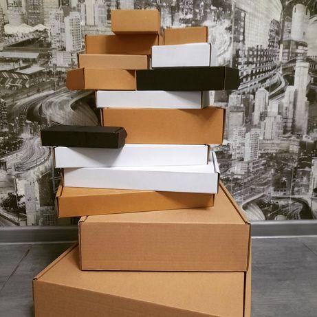 Коробка картонная самосборная