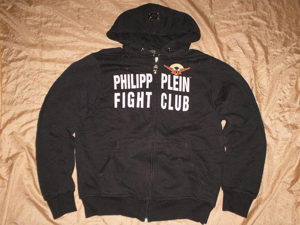 Мужская куртка толстовка худи кенгурушка Philipp Plein размер XXL