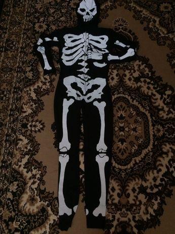 Хеллоуин костюм, костюм скелета