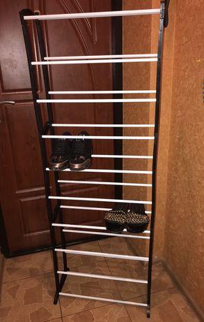 Полка для обуви на 30 пар стеллаж органайзер