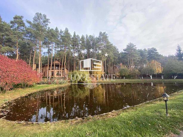 БЕЗ%,Продажа поместья(536м)с выходом на воду в лесу,с.Здоровка, 0.7 га