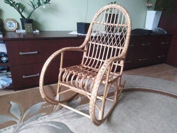Дитяче крісло гойдалка , кресло качалка плетене з лози, крісло качалка