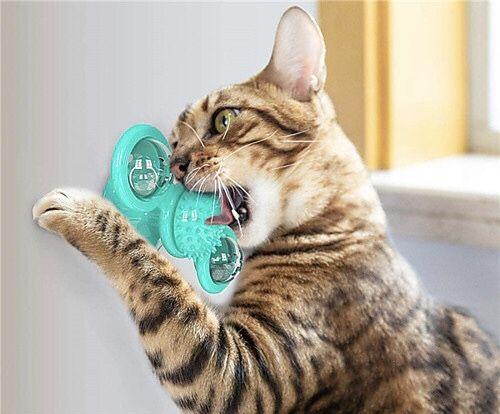 Brinquedo giratório novo para gato