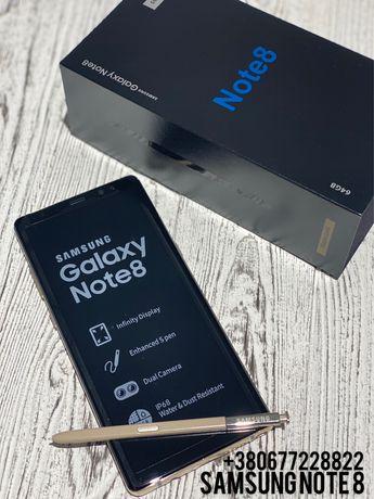 New Samsung Galaxy Note 8 Новий Gold Ноте 8 +Подарунок