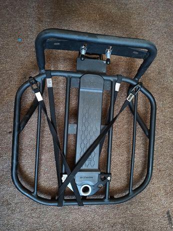 Bagażnik rowerowy przedni Btwin onesecondclip platforma