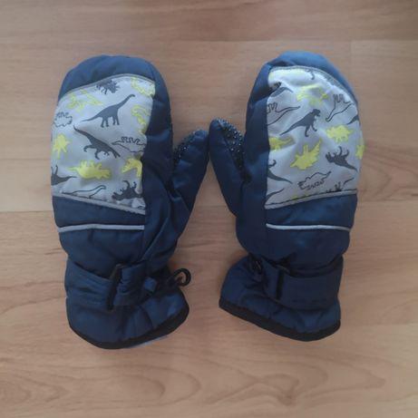 Rękawiczki narciarskie zimowe rozm. 98-110