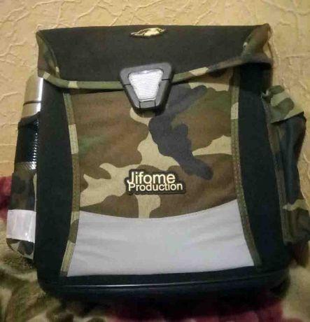 Новый ортопедический рюкзак ранец портфель каркасный Olli светоотражат