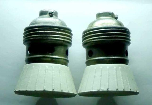 Продам два керам. электропатрона Голиаф(Е40) ссср.