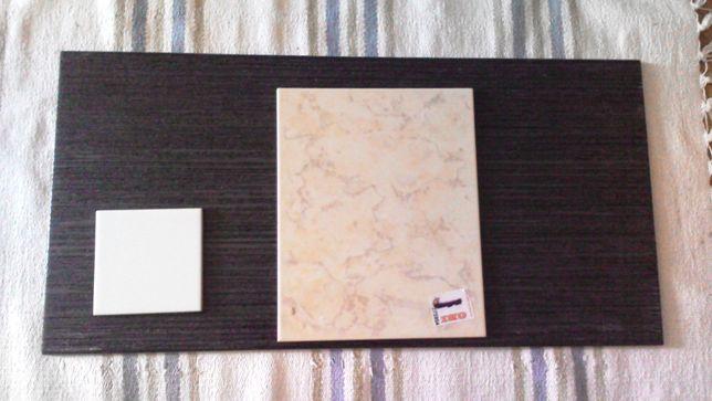 Opoczno białe marmur brązowe płytki ścienne Aplauz