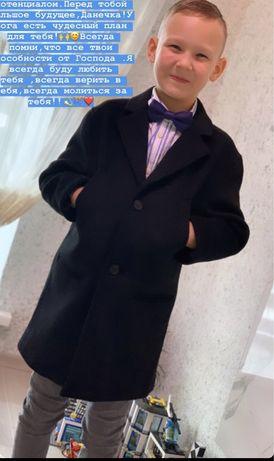 Кашемирове пальто для джентельмена